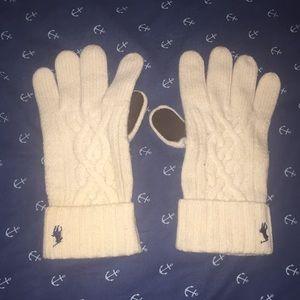 vintage polo ralph lauren gloves